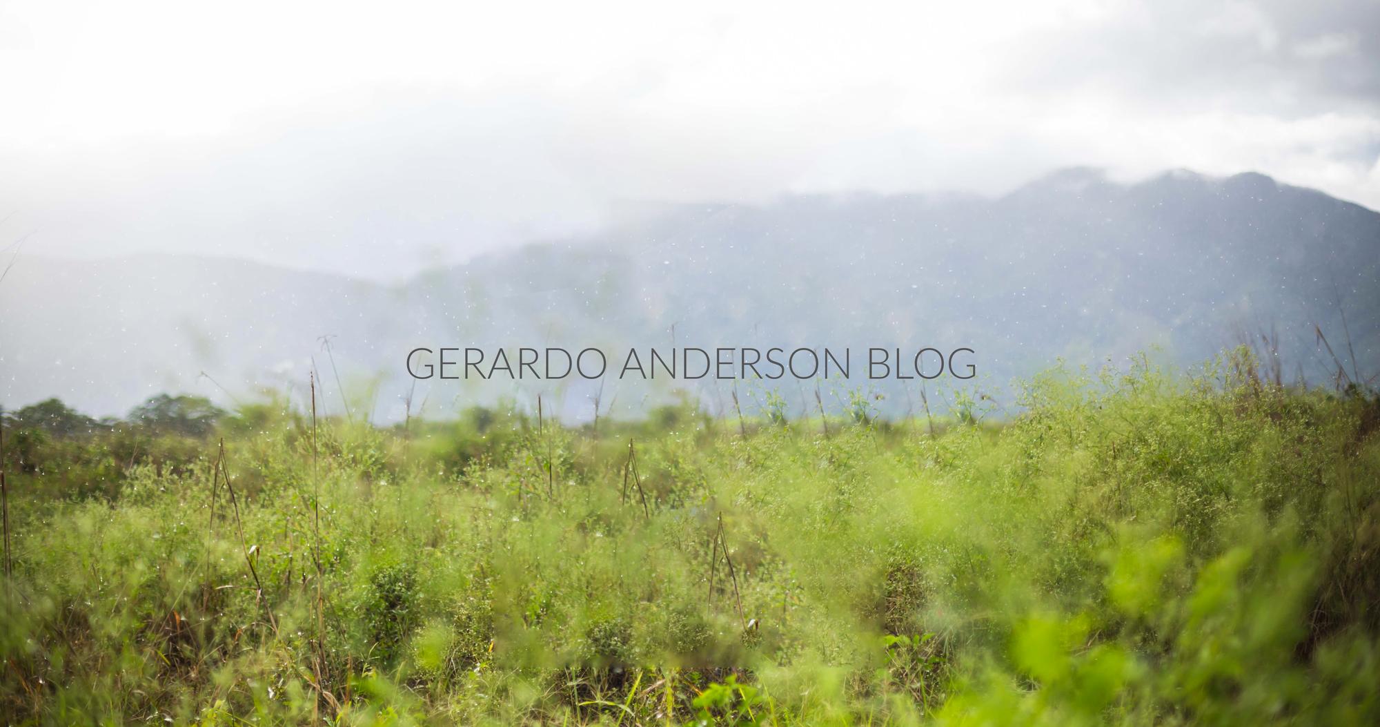 Gerardo Anderson | Página Oficial